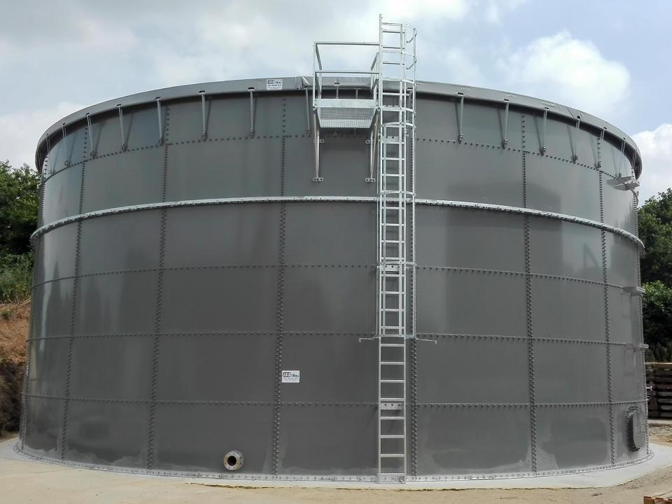 WWTP Tank in the Netherlands