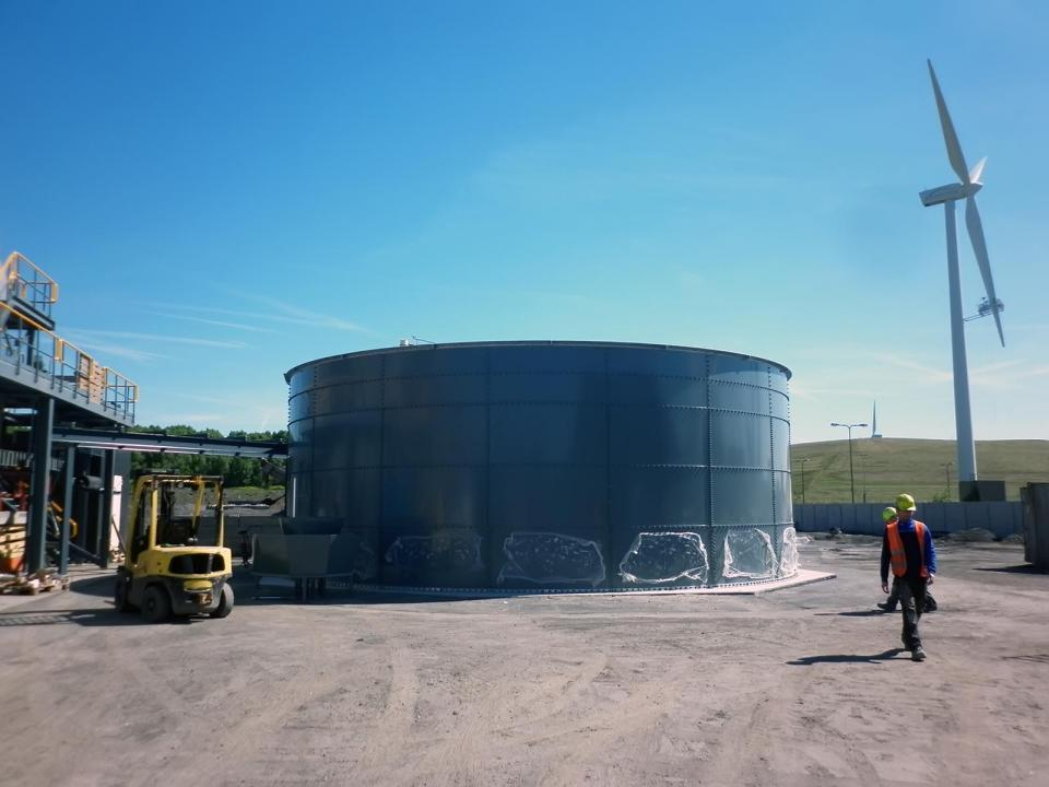 Tanks for Wastewater Treatment Plants